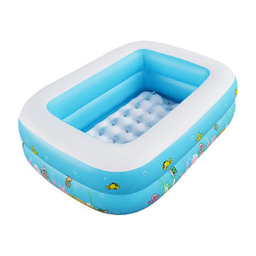 china kids rectangular inflatable pool - Rectangle Inflatable Pool
