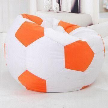 China Football Shaped Bean Bag Chair