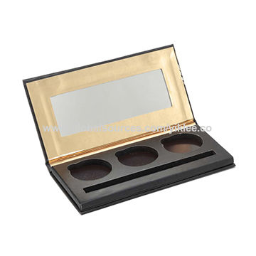 China 3 Color Eyeshadow Palette Case