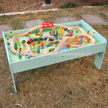 China Wooden kids train table from Wenzhou Wholesaler