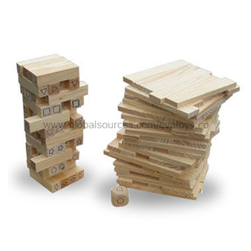 China Intelligence Wooden Tower Game Toy Made Of Solid Wood In Stunning Wooden Bricks Game