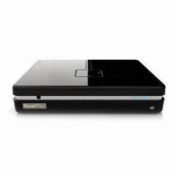 DVB-T Wi-Fi HD Media Player with UPnP and Bit Rate up to