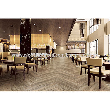 China Dark Grey Hardwood Tile Wood