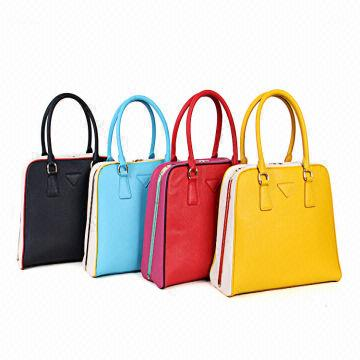 China Hot European Style Genuine Leather Women Handbags Tote Bags Drop Shipping Whole Retail