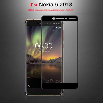 China 3D Curved Full Cover Glass Protector for NOKIA 6 from