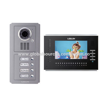 Apartment Door Entry System With Direct Call Outdoor Camera For