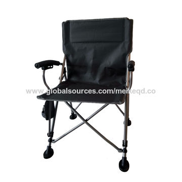 China Folding Chair In 22mm Frame, Fabric Seat
