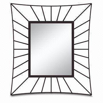 metal framed mirror oem and odm orders are accepted various colors and sizes are