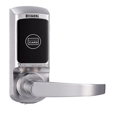 Smart hotel RFID card door lock