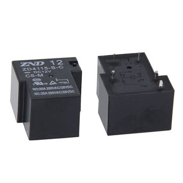 China ZD4115/T90/5-pin Normally Open Type 12V/30A PCB Relay