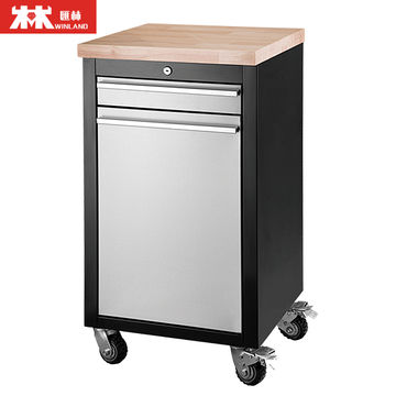 ... China Height Adjustable Steel Cabinet Workbench With Drawers ...