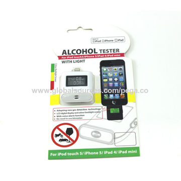 China Backlight Alcohol Tester for iPhone 6 6s SE 5 5s 5c, iPad Pro Air 2 Air Mini 4 Mini 2