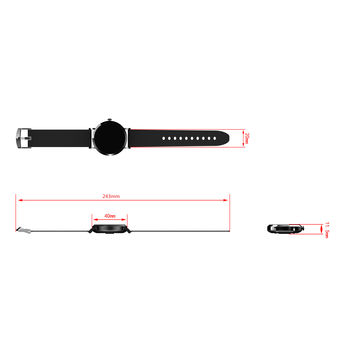China Activity Tracker Heart Rate with 100mAh Battery from