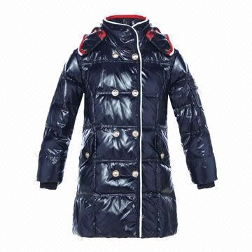 Girls' Down Coat in High Quality and Nice Appearance | Global Sources