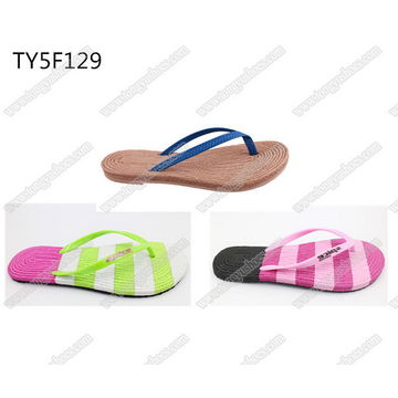 6a27f6309 China hot selling fancy sole woven design ladies china wholesale brand name  beach flip flops