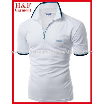 China Polo T Shirt From Fuzhou Manufacturer Fuzhou H F Garment Co Ltd
