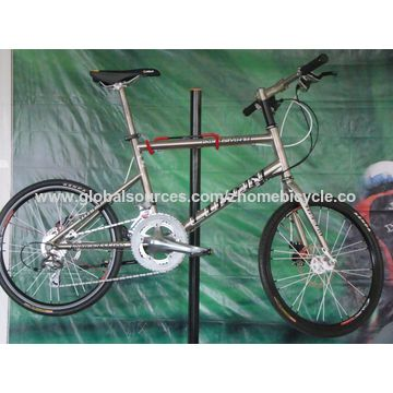 China Bicycle Parts/Velo Bike Frame/Small Wheel Bicycle Frame and Fork