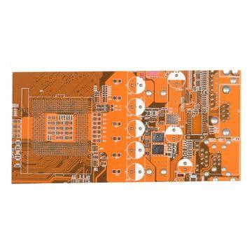 Double-sided orange soler mask HASL PCB