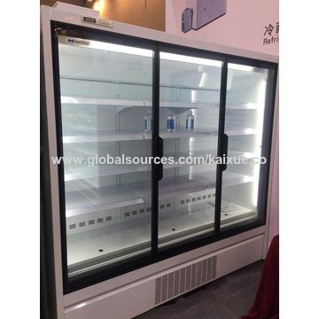 China Remote multi glass door display merchandiser freezer