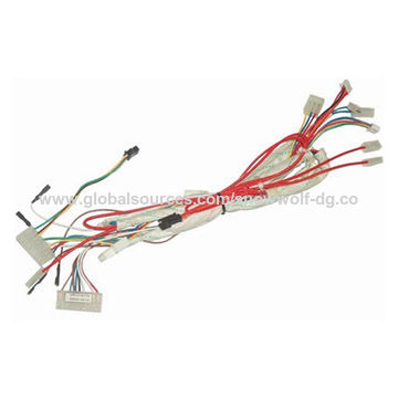 Auto AMP 6 pin TE connector wire harness | Global Sources