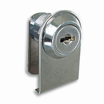 China Zinc Alloy Lock/Cabinet Latch with One Plastic Washer