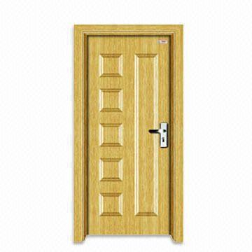 PVC Door with 3mm HDF Frame and PVC/HDF Surface Coating | Global Sources