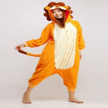 61ad18e6ad48 Hong Kong SAR Cute Lion Animal Adult Kigurumi Onesie kigurumi animal pajamas  costume