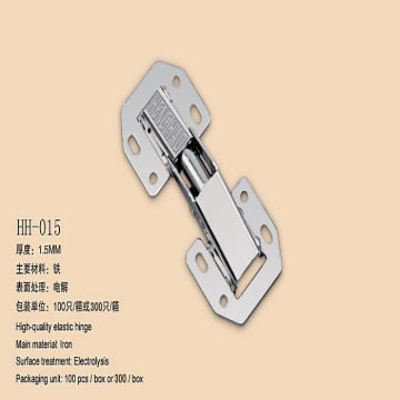 90 Degree No-bore Frog Style Iron Concealed Hinge | Global Sources