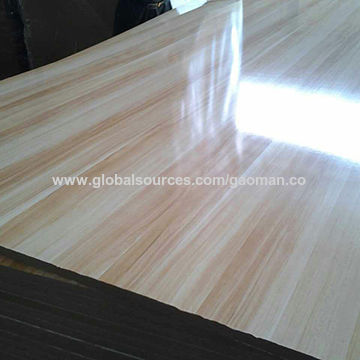 China Waterproof Melamine Faced Mdf Board With Poplar Material