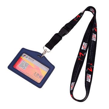 China Custom Neck Polyester Id Card Holder Lanyard