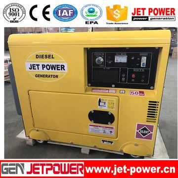 JDE7500SE 5kW small power diesel portable generator set