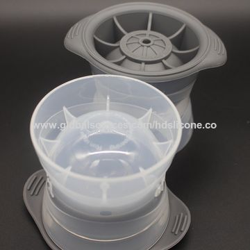 China 1pc DIY Food Grade Silicone Ice Cube Mould