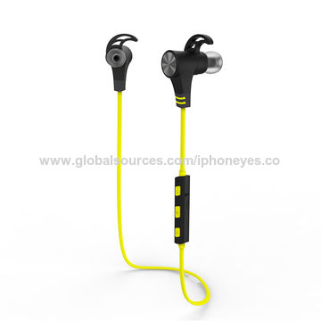 China Bluetooth V4.1 Wireless Stereo Bluetooth Headphone, In-ear Sports Earphones Headset