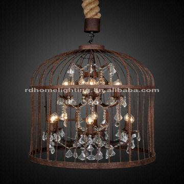 china luminaire chandelier imported from style chandelier - Birdcage Chandelier