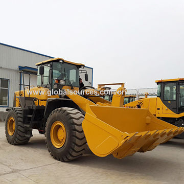 China Wheel loader, SDLG 5 tons loader LG956 on Global Sources