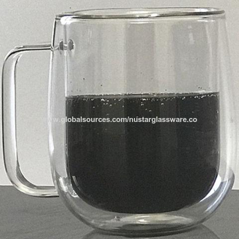 China 8oz Double Wall Insulated Gl Coffee Mug