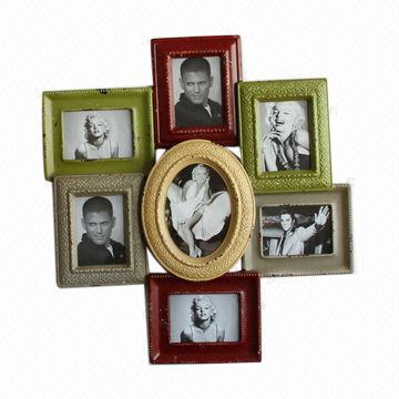 metal photo frame collage assorted color finish picture frame