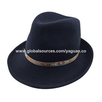 ... China 100% wool felt lady cowboy hat 2bb5150f054