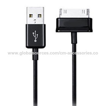 ed609703296f35 China Usb cable data charge for samsung ecc1dp0ube gt-p5100 galaxy tab 2  10.1 ...