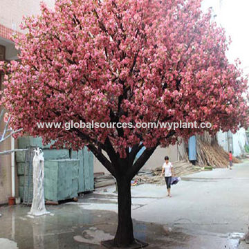 Artificial Pink Cherry Blossom Flower Tree China