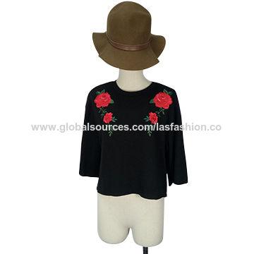 Ltd on Global Sources L S Fashion Apparel   Fabrics Women s Apparel Women s  Sweaters   Knitwear Women s crew neck pullovers ... ae54a6334