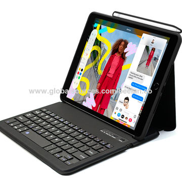 China Bluetooth Keyboard Case For Ipad 10 2 W Apple Pencil Holder On Global Sources