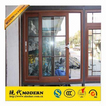 Modern Brand Double Glazing Thermal Broken Grill Design Aluminum