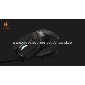 China COMBATERWING 4800 DPI Optical Gaming Mouse 6 Button USB Wired Mice
