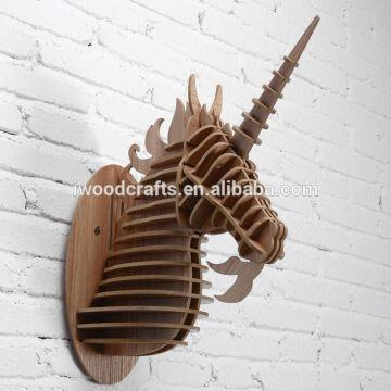 Unicorn Art Minds Wood Crafts Wood Crafts Product Material Mdf Wood Use Home Decor Type Home Global Sources