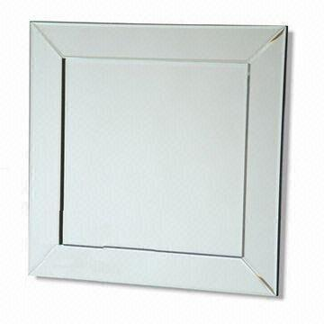 china bevelled mirror framed mirror various sizes are available - Mirror Framed Mirror