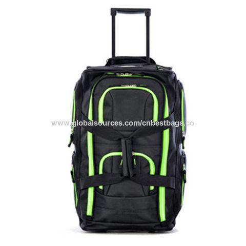 bd683bd2a3 Fashion Lightweight Rolling Duffel Bag China Fashion Lightweight Rolling Duffel  Bag