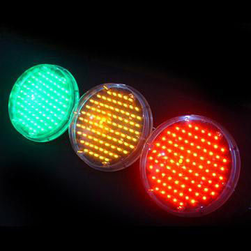 12-inch High-stability LED Traffic Signal Lamp, Available in Green ...