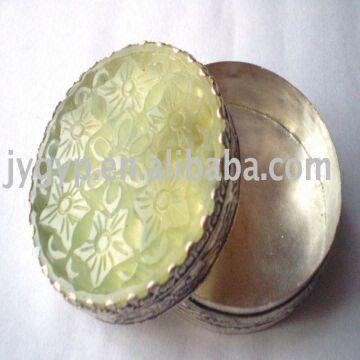 jade jewellery box cosmetic box carving box 1material jade 2any
