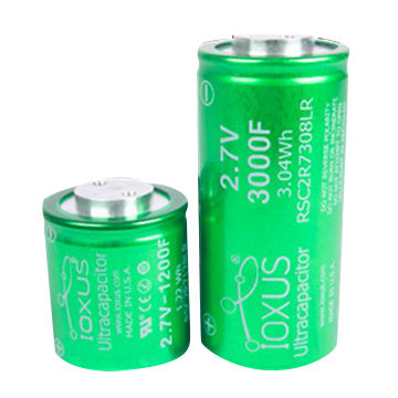 Super capacitor, 2 7V 1200F 3000F IOXUS technologies | Global Sources
